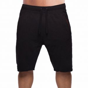 f8f4c964a28 BROKIG Men s Gym Fitted Bodybuilding Shorts Workout Running Athletic Cotton  Sweat Shorts (M