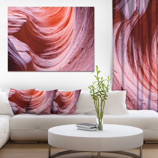 Souq | Designart Antelope Canyon Purple Wall Landscape Photo Canvas ...