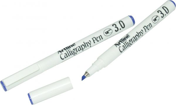 Art Line Uae : Souq artline calligraphy pen mm polyester fibre tip