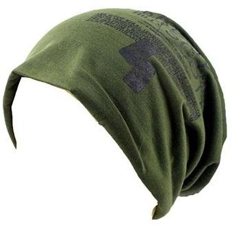 f8b31add5ca9e Army Green Beanie   Bobble Hat For Unisex