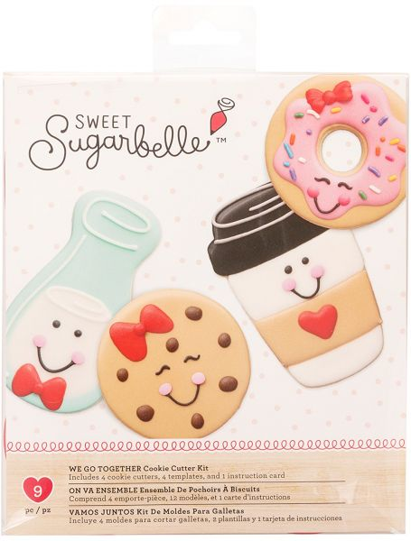 Sweet Sugarbelle 9 Piece Cookie Cutters We Go Together Valentine S