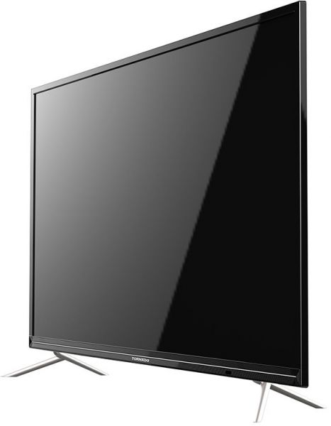 tornado led smart tv 49 inch full hd with built in wi fi and 2 usb