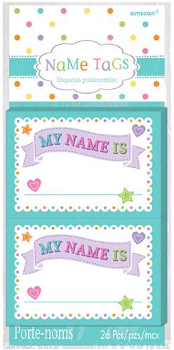 Amscan Baby Shower Name Tags Souq Uae