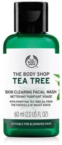 8b2f3b3cafcf6 The Body Shop Tea Tree Skin Clearing Facial Wash 60ml