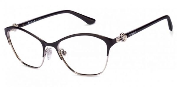 af59be37b6c Vogue Glasses Frame Cat Eye For Women - Black