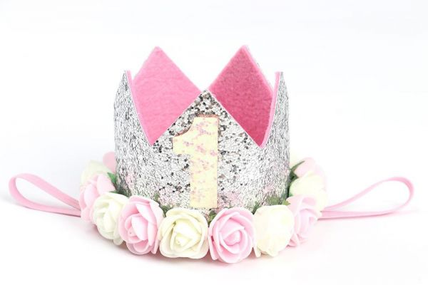 Baby Girl Birthday Party Hats I Am One Caps First Princess