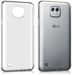 LG X CAM TPU Silicone Clear Case Back Cover by Muzz
