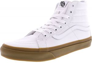 Vans Sk8-Hi Slim Light Gum Fashion Sneakers for Women - White