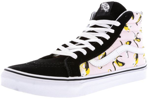 5aedc698e8 Vans Sk8-Hi Slim Bananas Fashion Sneakers for Men - Multi Color ...