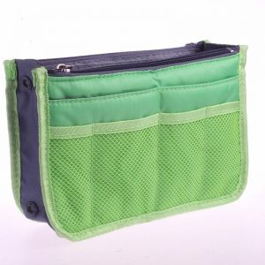 4a4d566ebc4f Green Travel set waterproof Portable man Toiletry Bag women Cosmetic  Organizer Pouch wash bags