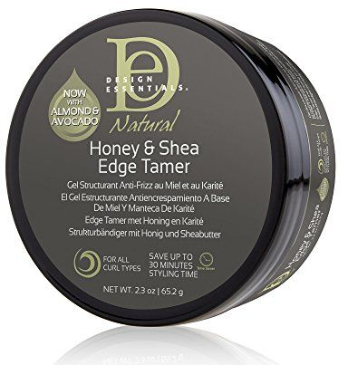 Design Essentials Natural Honey Shea Edge Tamer With Almond