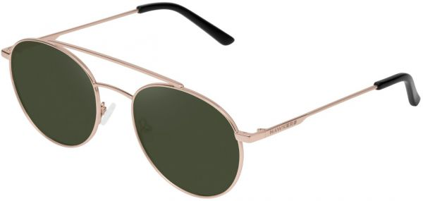 9fc338d2a480 Hawkers Gold Green Bottle Hills Unisex Sunglasses - HIL07 - 139-47-140 mm