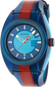890617d1f46 Gucci Casual Watch For Unisex Analog Rubber - YA137112