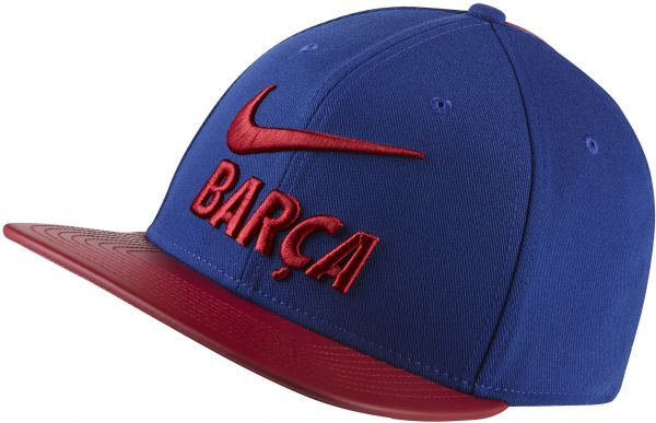 Nike FC Barcelona FCB Adjustable Football Cap  f795ace6810