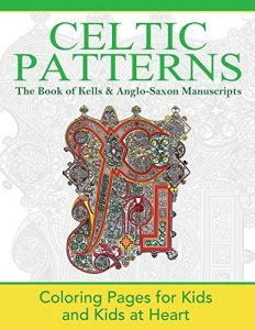 The Book Of Kells Anglo Saxon Manuscripts Coloring Pages For Kids And At Heart Celtic Patterns