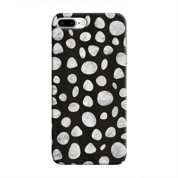 Cover It Up - Diamond Black pebbles iPhone 7 Plus Hard case