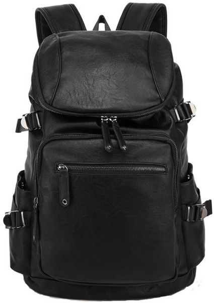 69a1fedd3a Leather Men Backpack Large Capacity Man Travel Bags Trendy Business Bag For  Man Leisure Laptop Bag-xx