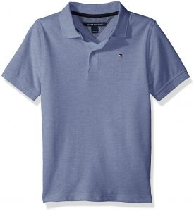 Tommy Hilfiger Little Boys Space Polo Placid Blue 5