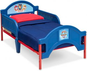 Delta Children Paw Patrol Plastic Toddler Bed Multi Color BB86945PW