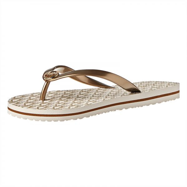 3518eca93a8 Michael Kors Flip Flop Slippers for Women - Vanilla