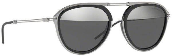 478f02210fa8 emporio Armani Round Men s Sunglasses - 2056-3010 1Y - 54-19-140mm ...