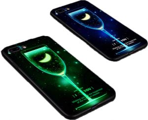 737755ffe404a Xact Glow In The Dark IMD TPU Back Cover For Iphone 7 plus and Iphone 8 plus