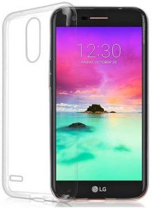 LG K10 ( 2017) TPU Silicone Clear Case Back Cover By Muzz
