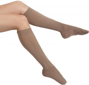 a2377a7838b MAXAR Unisex Air Flight Travel Dress Compression Support Socks for Men and  Women