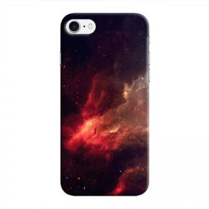 Cover It Up - Red space Cloud iPhone 8 Hard case
