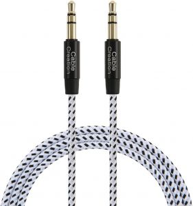 CableCreation 3ft Aux Cable,CableCreation 3.5mm Male to Male Auxiliary Audio Stereo Cord for Car,Headphones, iPods, iPhones, iPads,Tablets,Laptops,Android ...