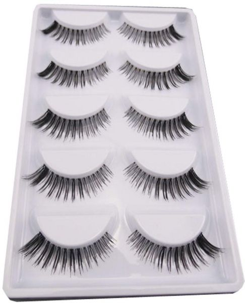 5 Pair Lot False Eyelashes Lashes Voluminous HOT eye lashes Natural Magnetic Eyelashes