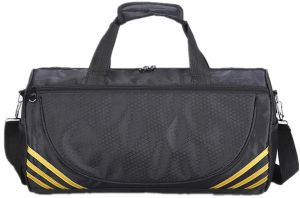 Sports Gym Bag Travel Duffel with Shoes Compartment for Men Women 4e7da25db30b4