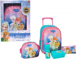 6398ac162ce0 FROZEN GIFT OF LOVE PROMOTION TROLLEY BAG 16 inch