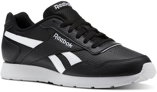 8e6d4e7fca0b1 Reebok Royal Glide Walking Athletic Shoes For Men - Black   White ...