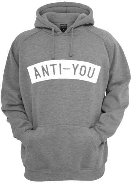 79ef470f5659 kanzeh Anti-You Hoodie For Unisex - Grey