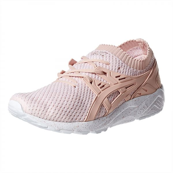 more photos b8ca6 85536 Asics Gel-Kayano Trainer Knit Sneakers For Men Peach Size 44 EU