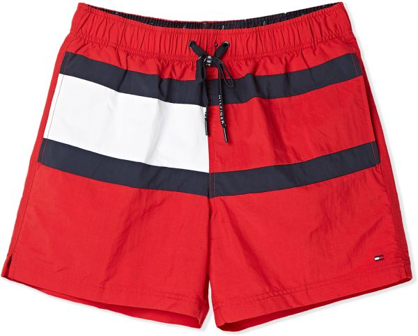 b99de8fa Tommy Hilfiger Swim Shorts For Men - Red | Souq - Egypt