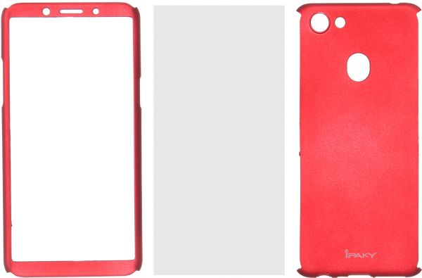 best service b9606 4324c Ipaky 360 Full Cover For Oppo F5, Red