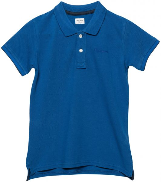 11d5b166405 Pepe Jeans Thor Polo T-Shirt for Boys - Dodger Blue