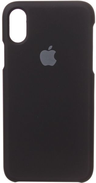 Back Cover For Apple iPhone X, Black