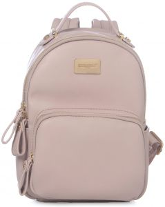 373ab6a98fcd DAVIDJONES Fashion Pink Small Compack Travel Back Pack Purse for Teen Girls