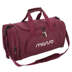 Mosiso Canvas Fabric Foldable Travel Luggage Duffels Shoulder Bag  Lightweight for Sports 57cf12d9feb8a