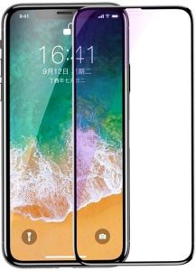 Blueo for Apple iPhone X Anti Blue Screen Protector, HD Strong Tempered  Glass Film for iPhone X - Black