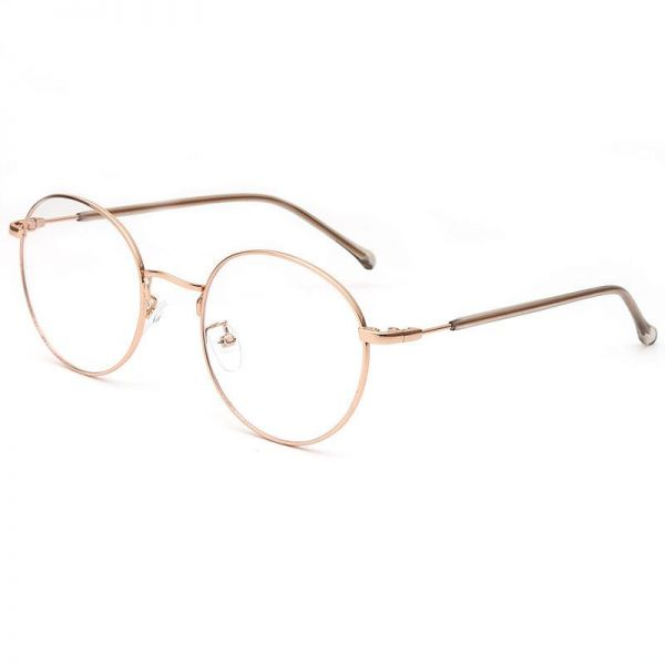 Buy Round Women and Men Eyeglasses Fashion Eyewear Optical Frame ...