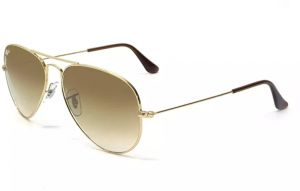 5fd7f9cb96 RayBan Men s UV-Protection Aviator Sunglasses RB3025-001 51 - Size 55 Color  Brown