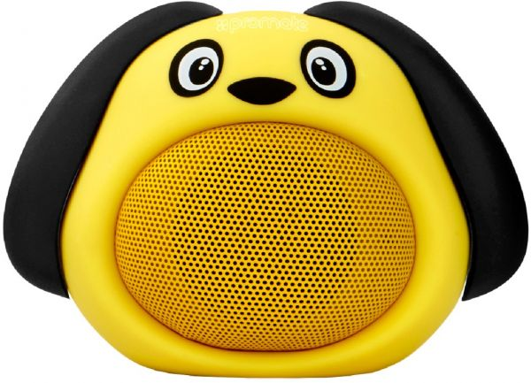 Promate Bluetooth Speaker, Portable Wireless Kids Bluetooth V4.1 Speaker with HD Sound Quality, Hands-free call function and Cute Dog Design for Bluetooth Enabled Devices, Snoopy Yellow