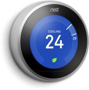 Nest Learning Thermostat - 3rd Generation with 2 Years Official Warranty