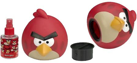 Angry Birds Red by Angry Birds Perfume Gift Set for Men - Eau de Cologne, 2 Count
