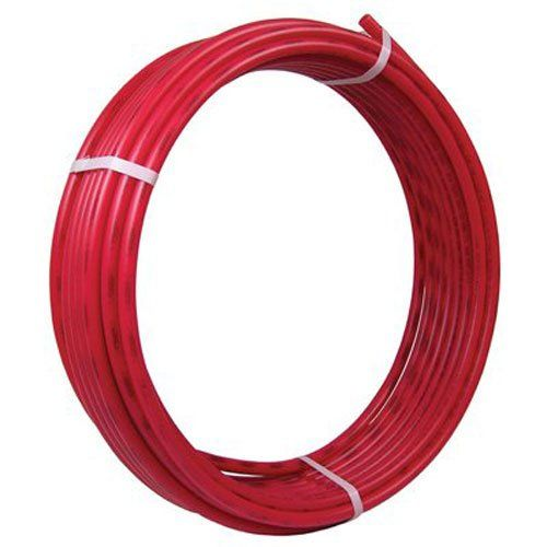 Sharkbite Pex Pipe Tubing 3 4 Inch Red Flexible Water Potable Push To Connect Plumbing Ings U870r300 300 Foot Coil