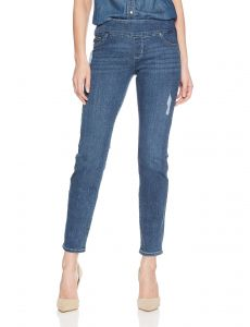 a0a3762fcc2 LEE Women s Slimming Fit Rebound Straight Leg Pull on Jean